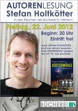 Veranstaltungstipp: Stefan Holtkötter liest inReken
