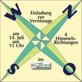 """Veranstaltungstipp: Ausstellung """"4 Himmelsrichtungen"""""""