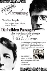 Matthias Engels: Roman über Oscar Wild und KnutHamsun